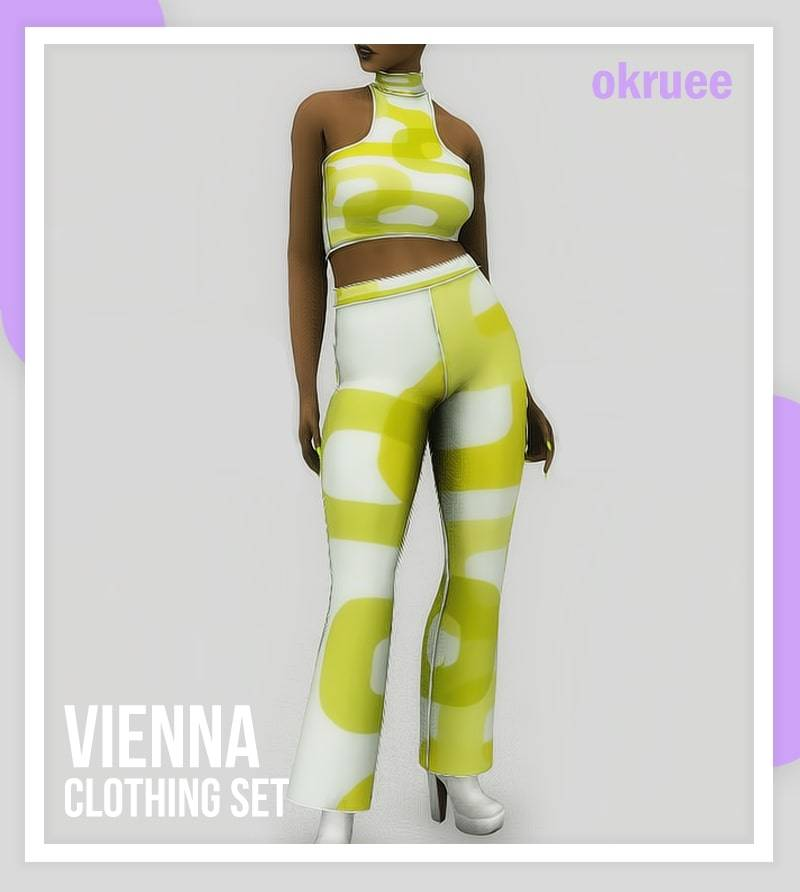 Топ и штаны - vienna clothing set