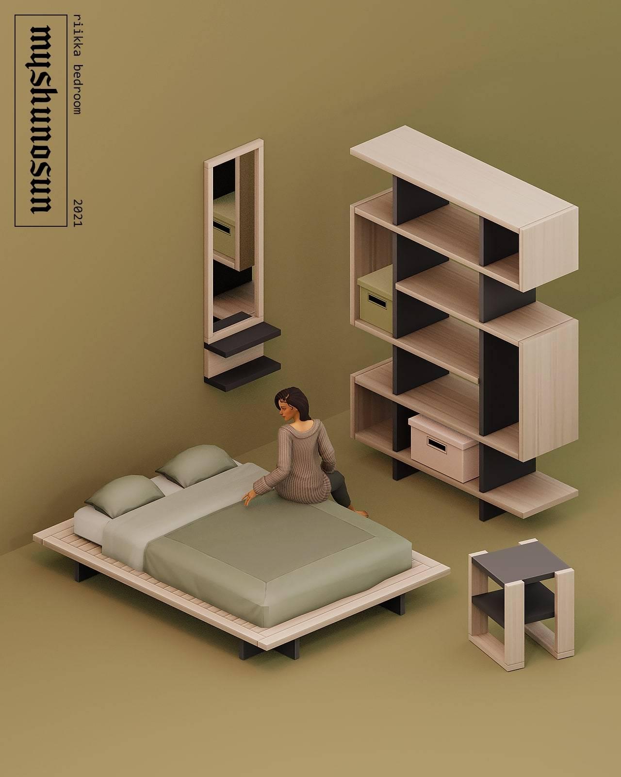 Спальня - Riikka bedroom