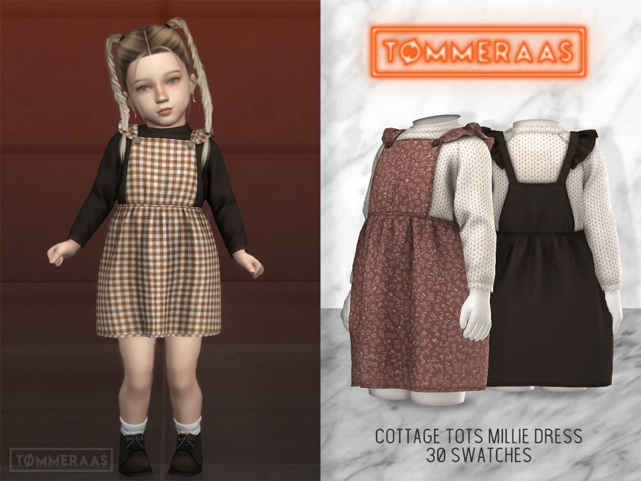 Сарафан и свитер - Cottage Tots Millie Dress