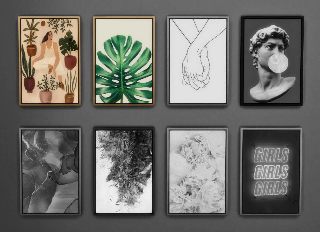 Картины - Framed Prints Collection Part 01