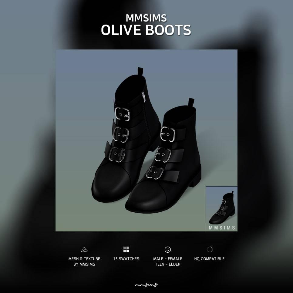 Ботинки - Olive Boots