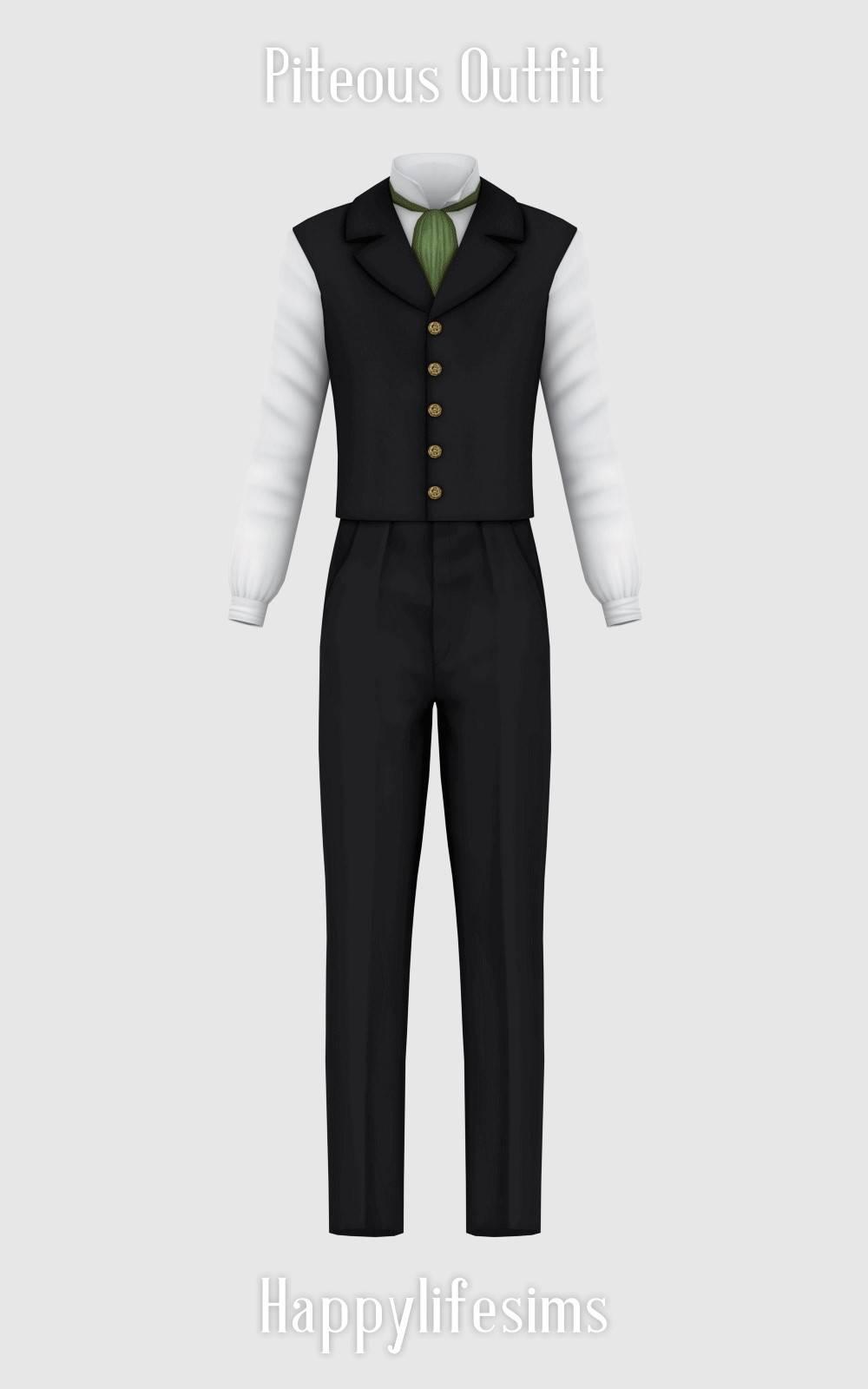 Мужской костюм - Piteous Outfit
