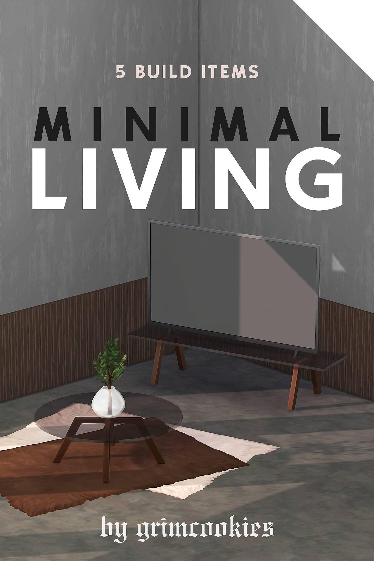 Сет для гостиной - MINIMAL LIVING