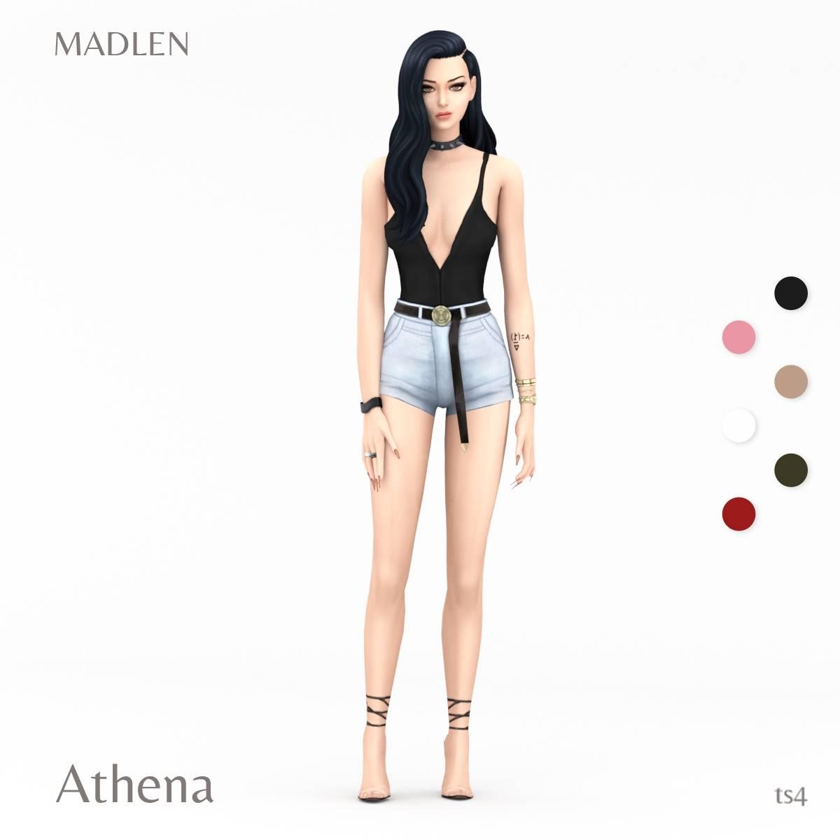 Топ и шорты - Athena Outfit