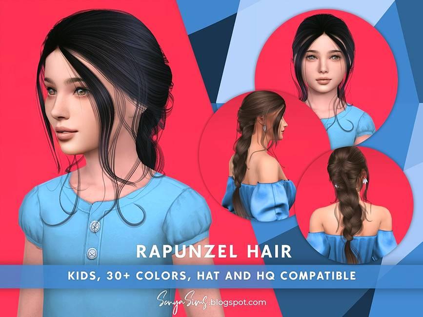 Детская прическа - Rapunzel Hair