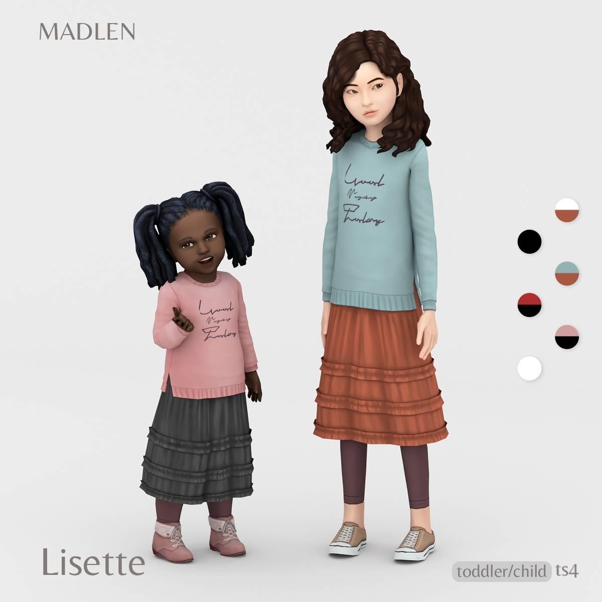Наряд для девочек и малышек - Lisette Outfit