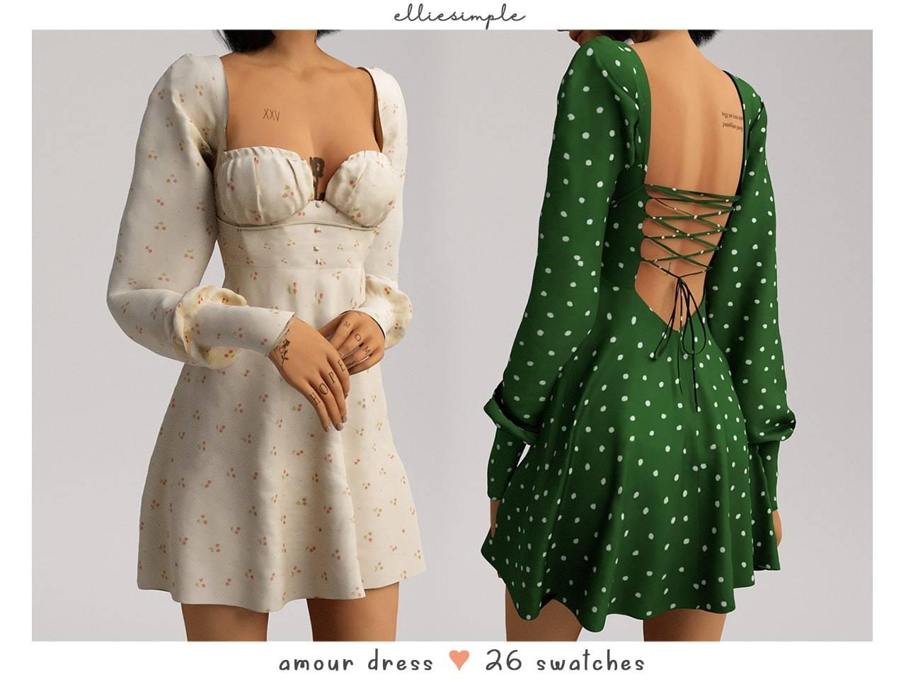 Платье - amour dress