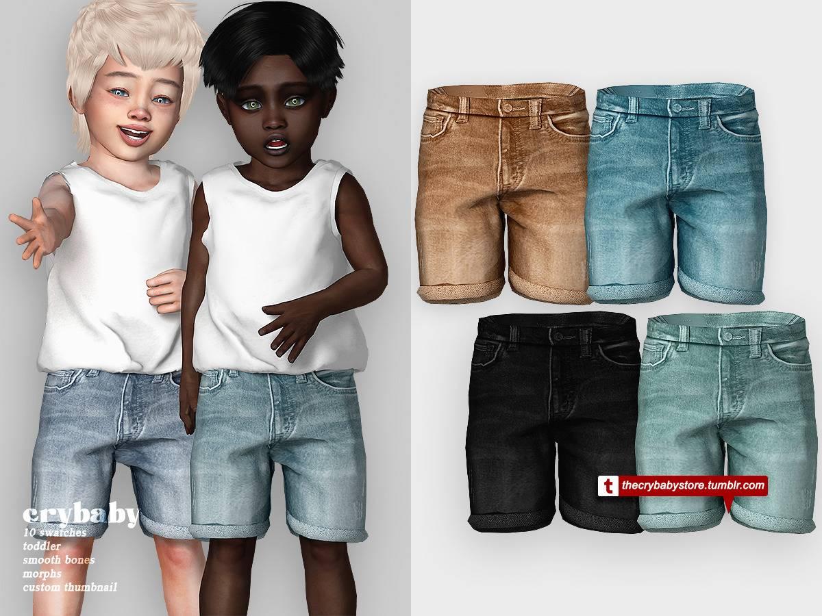 Джинсовые шорты - river shorts
