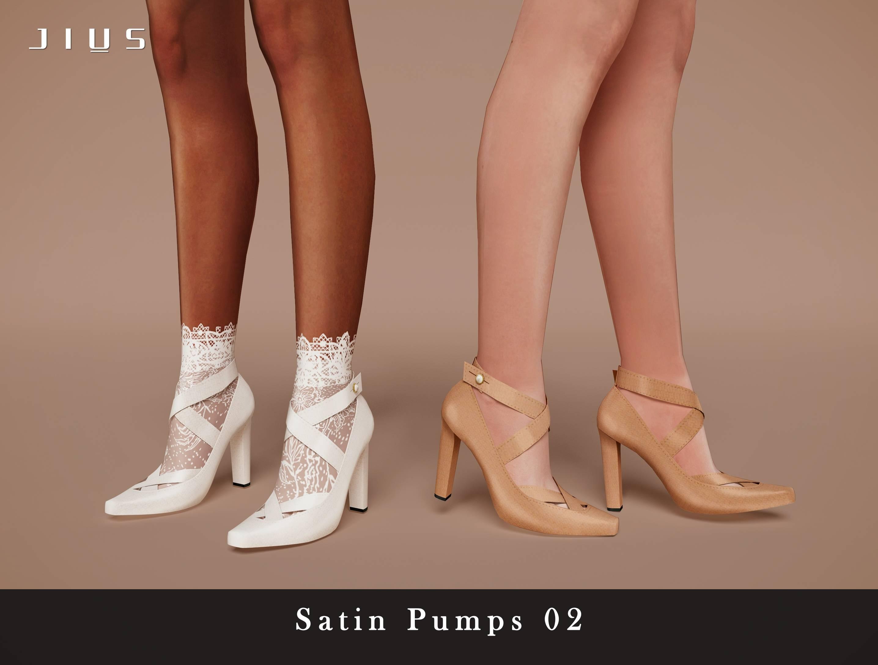 Туфли - Satin Pumps