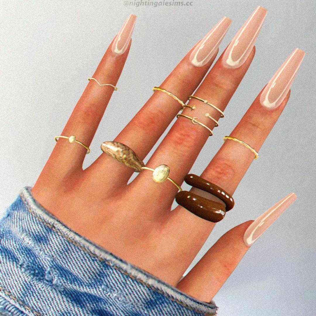 Комплект колец - Brenda Rings
