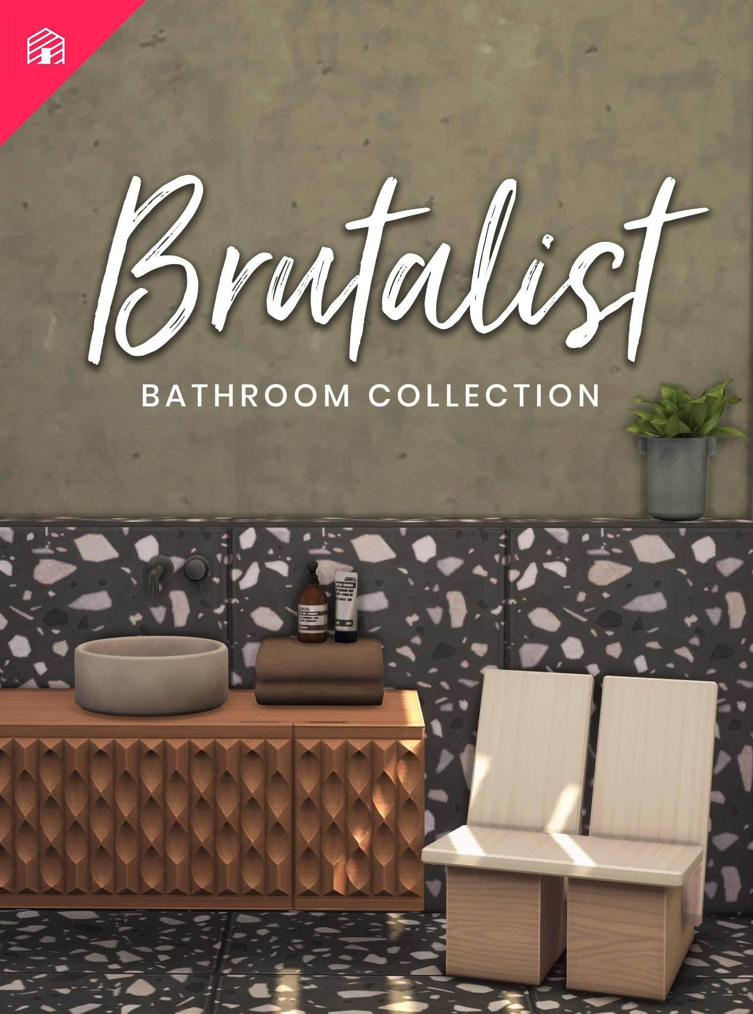 Ванная - The Brutalist Bathroom