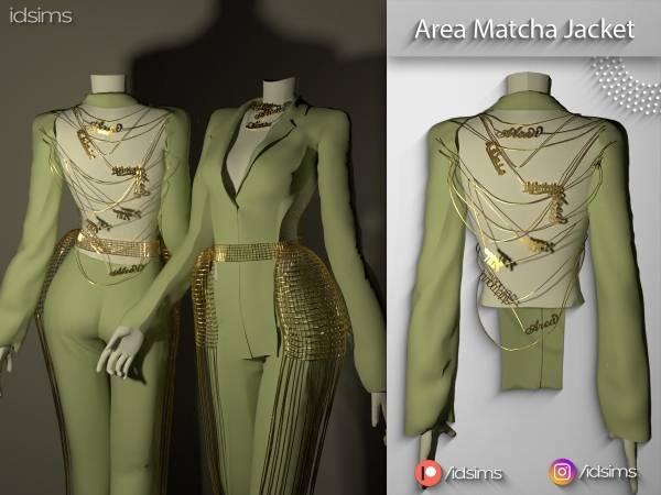 Жакет - area matcha name jacket