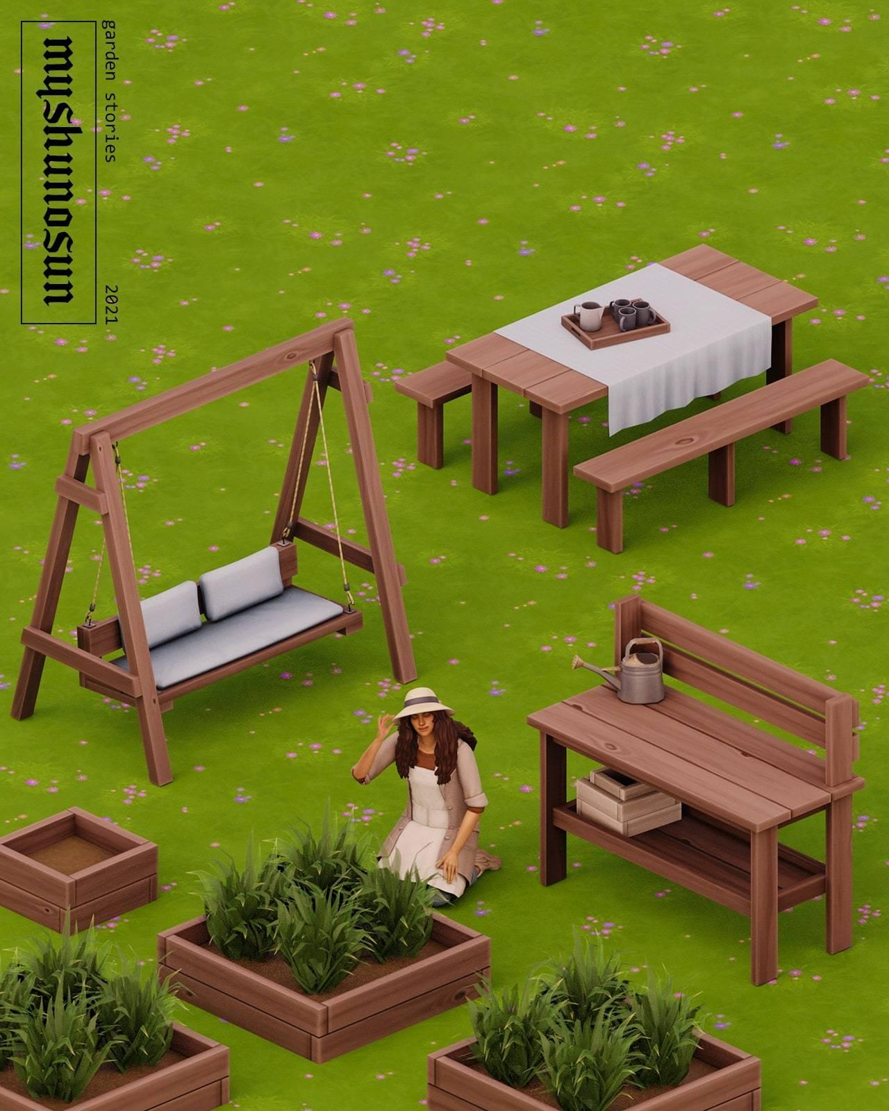 Садовый набор - GARDEN STORIES