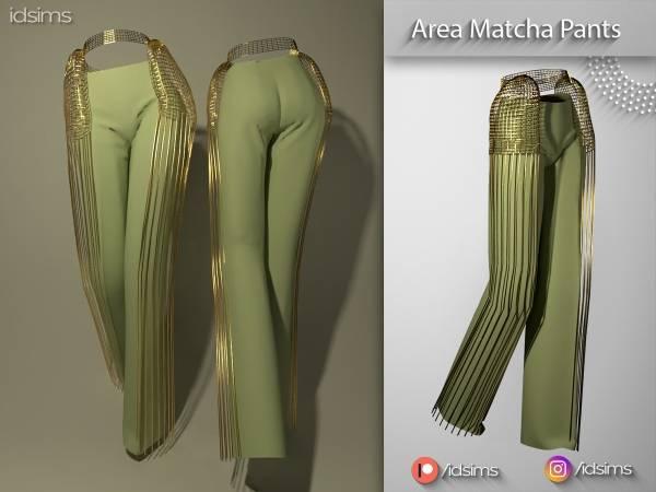 Женские брюки - area matcha pants