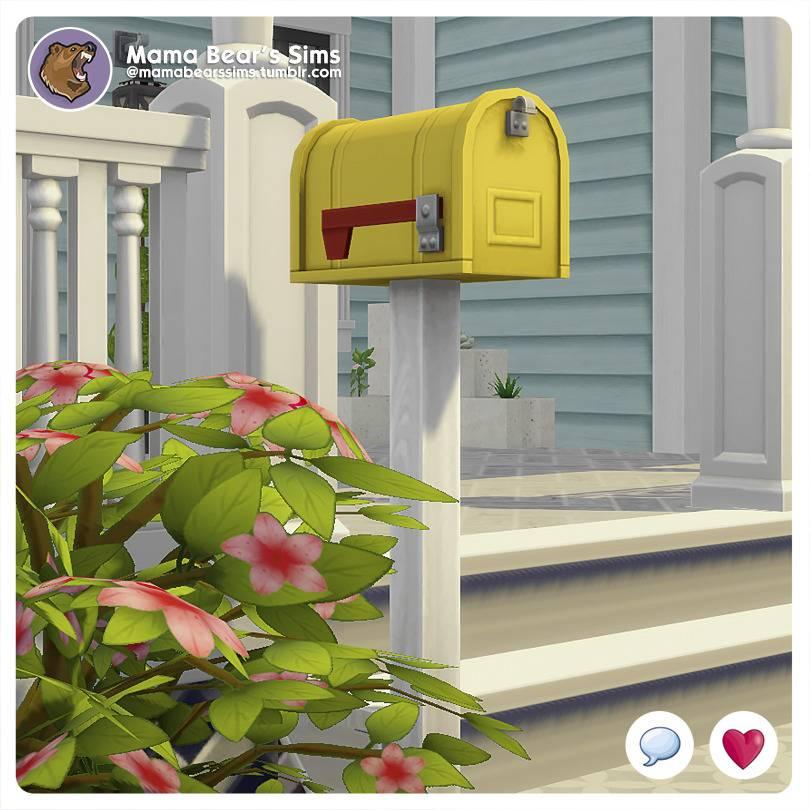 Почтовый ящик - Not-So-Rusty Mailbox