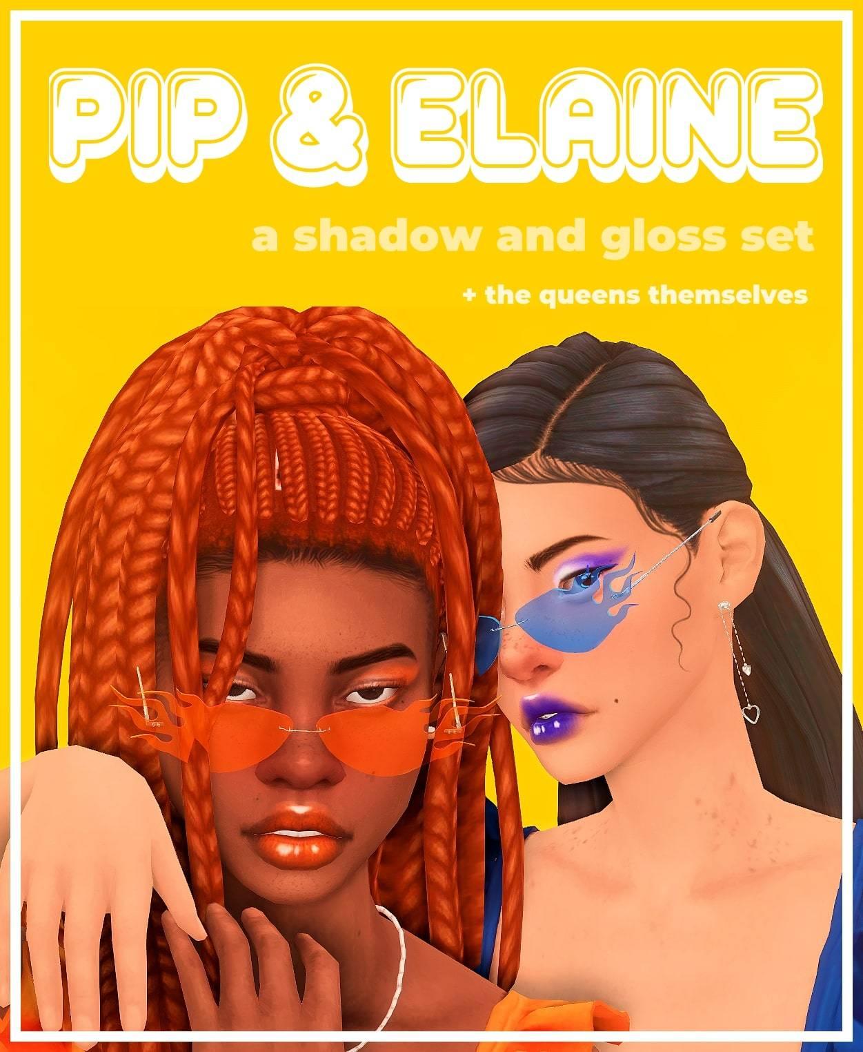 Набор косметики - The Pip And Elaine Set