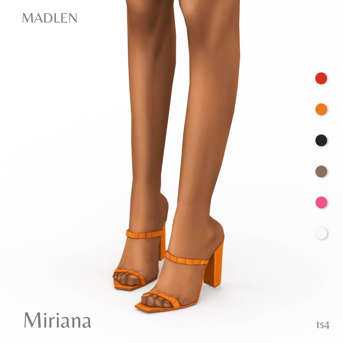 Шлепки - Miriana Shoes