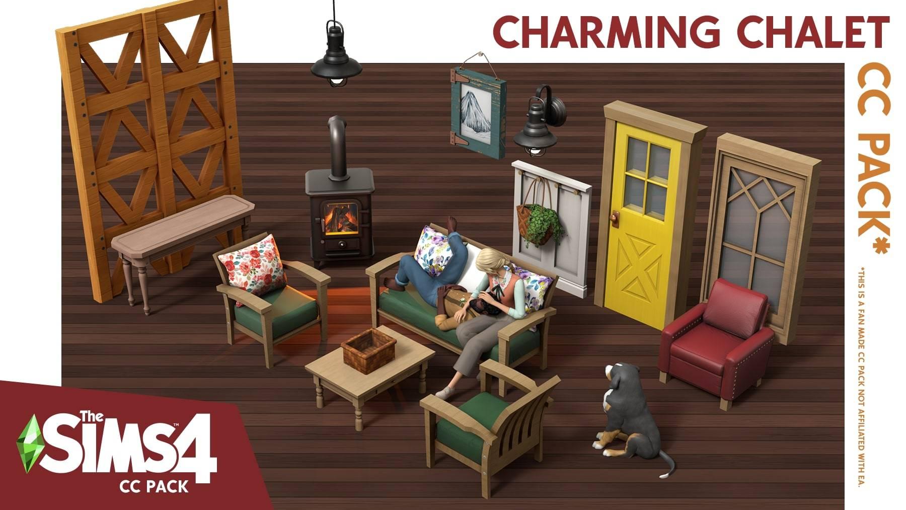 Набор для сельского домика - Charming Chalet CC Pack