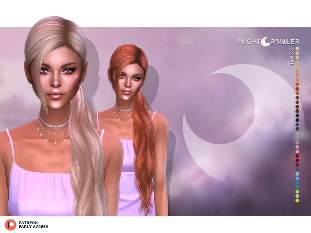 Женская прическа - CORAL HAIR