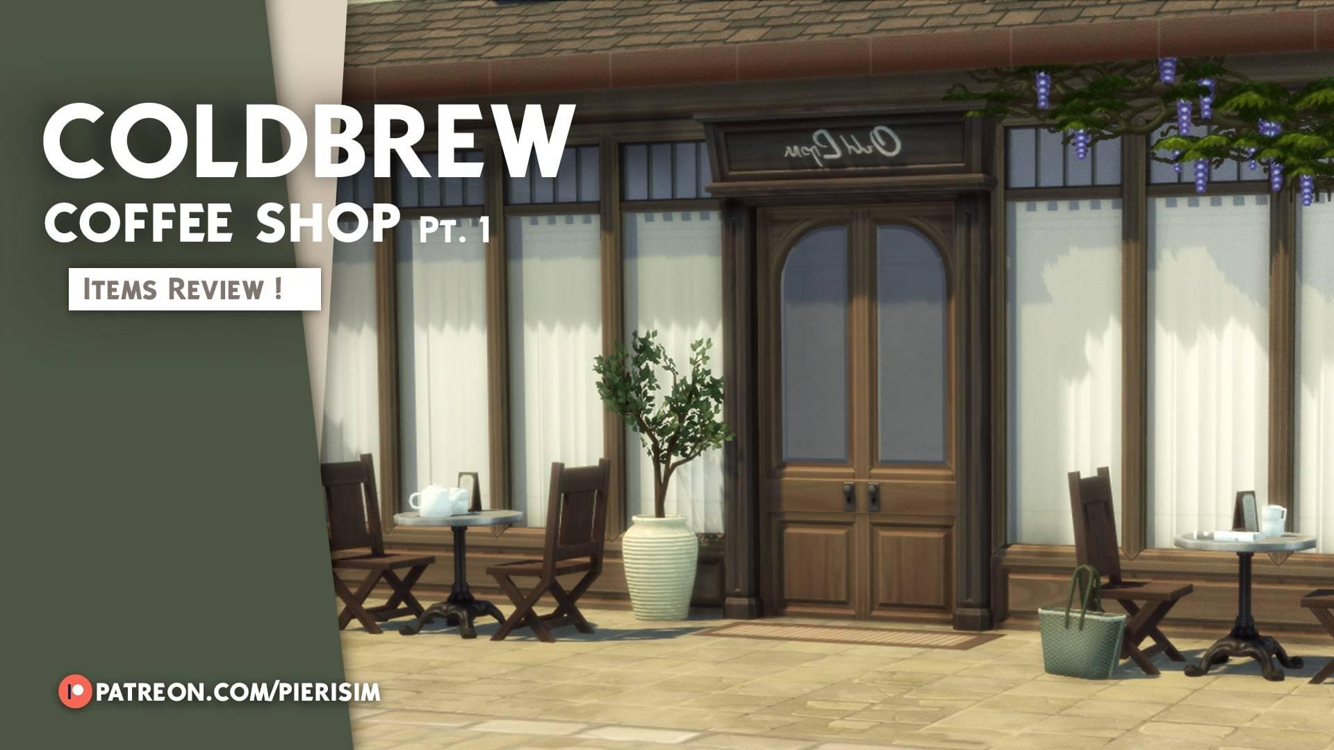 Набор для кофейни - The COLDBREW coffeeshop part1