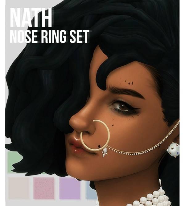 Пирсинг для носа - nath set