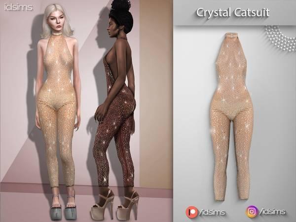 Комбинезон - crystal catsuit