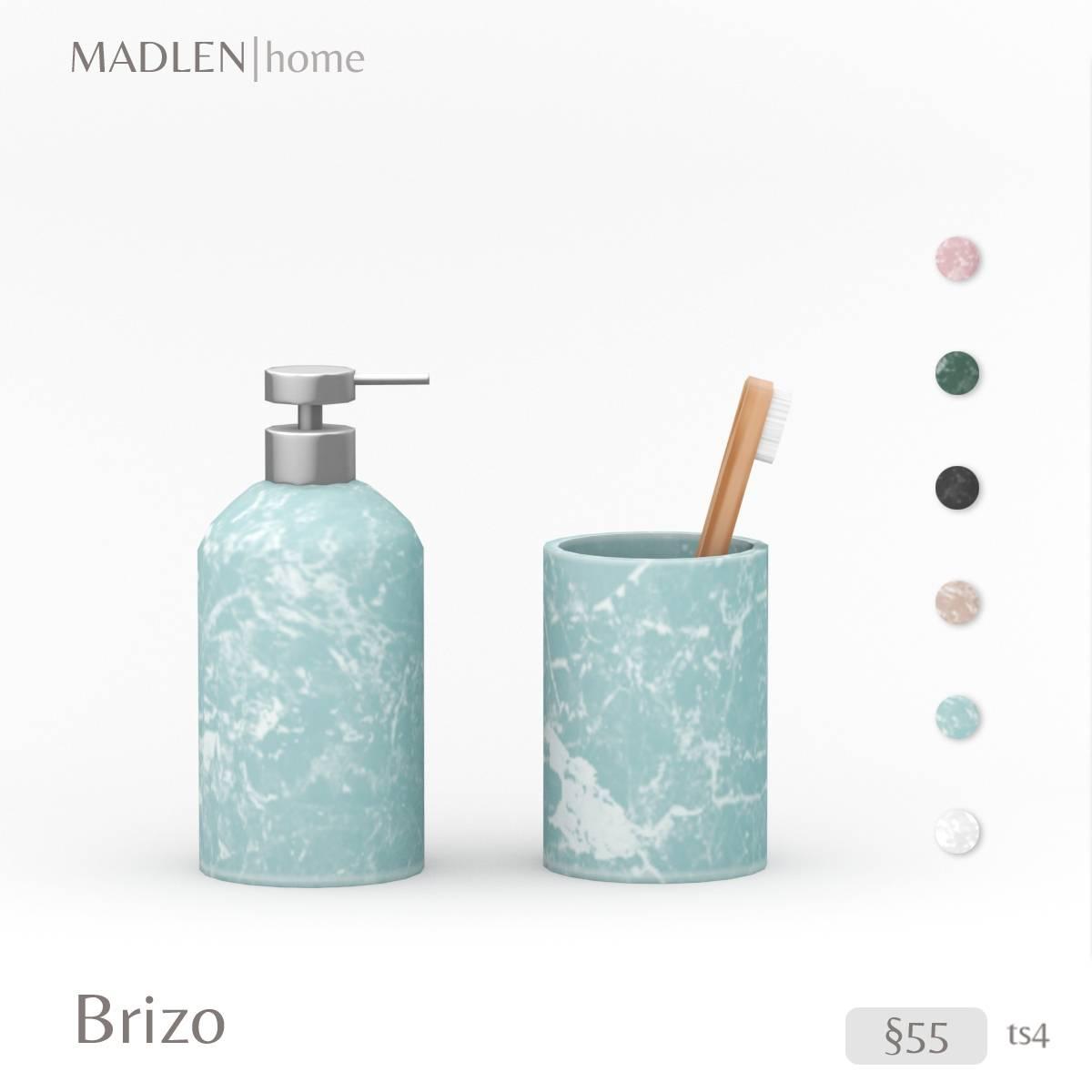 Аксессуары для ванной комнаты - Brizo Set