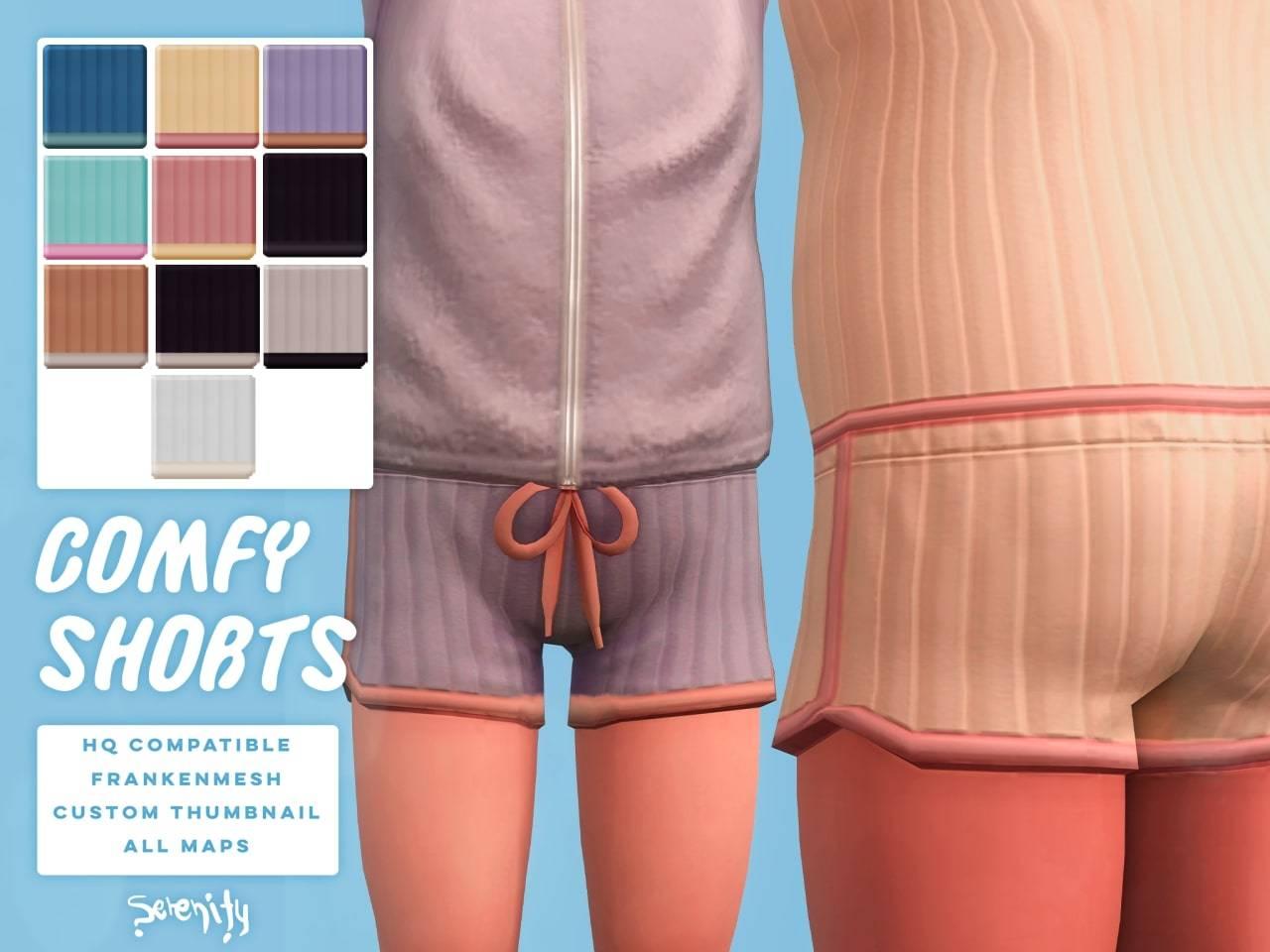 Шорты для малышек - comfy shorts