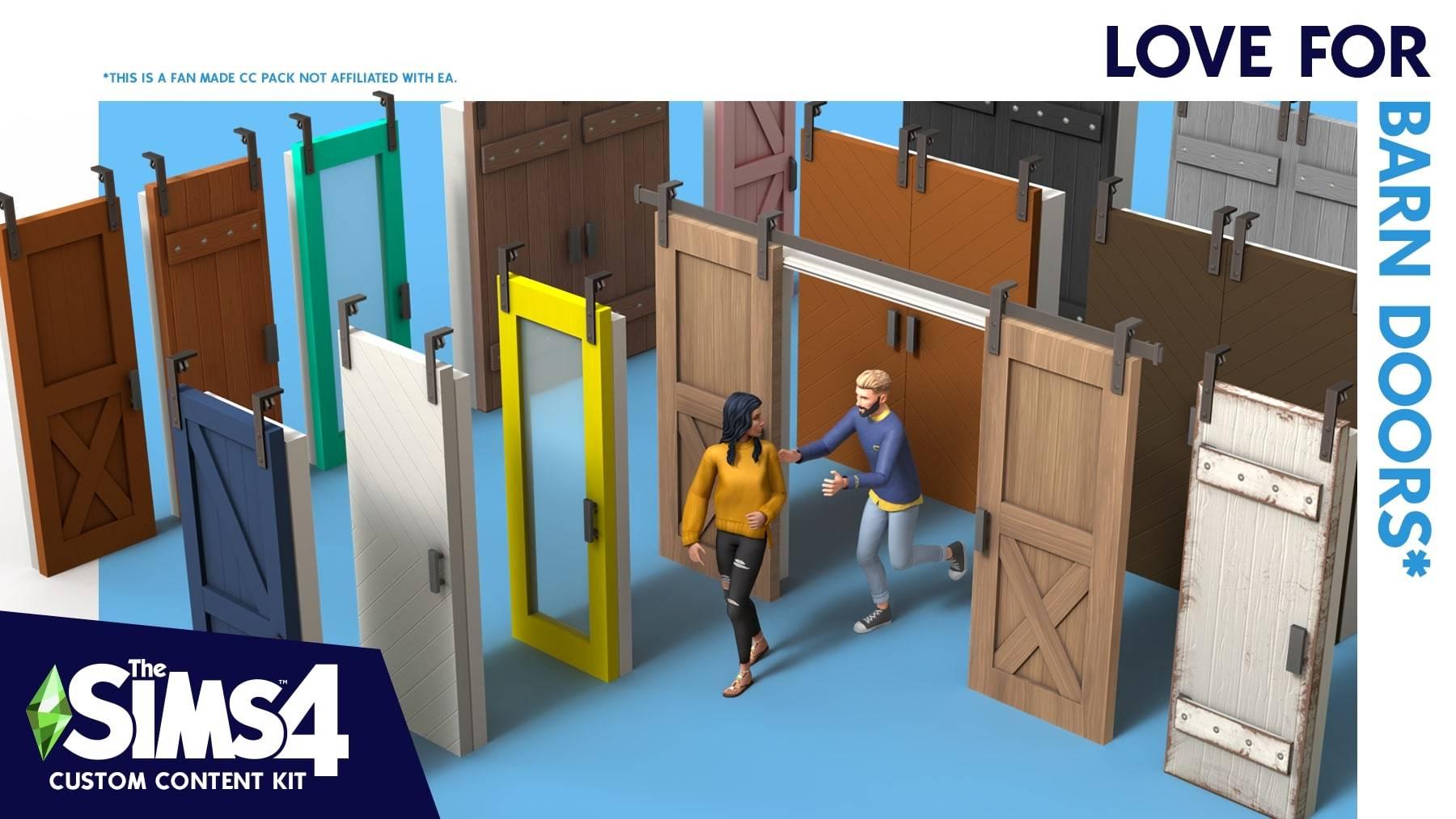 Строительный комплект - Love for barn doors