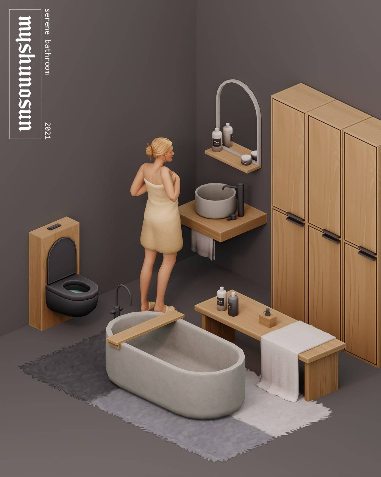 Ванная - SERENE BATHROOM