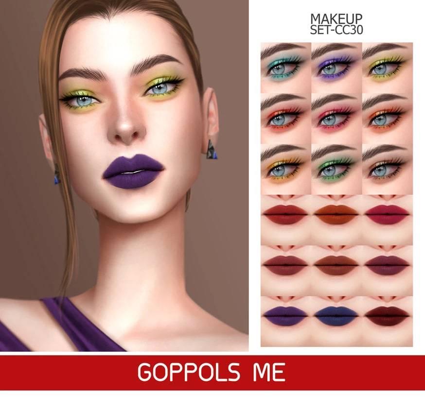 Набор косметики - MAKEUP SET CC30