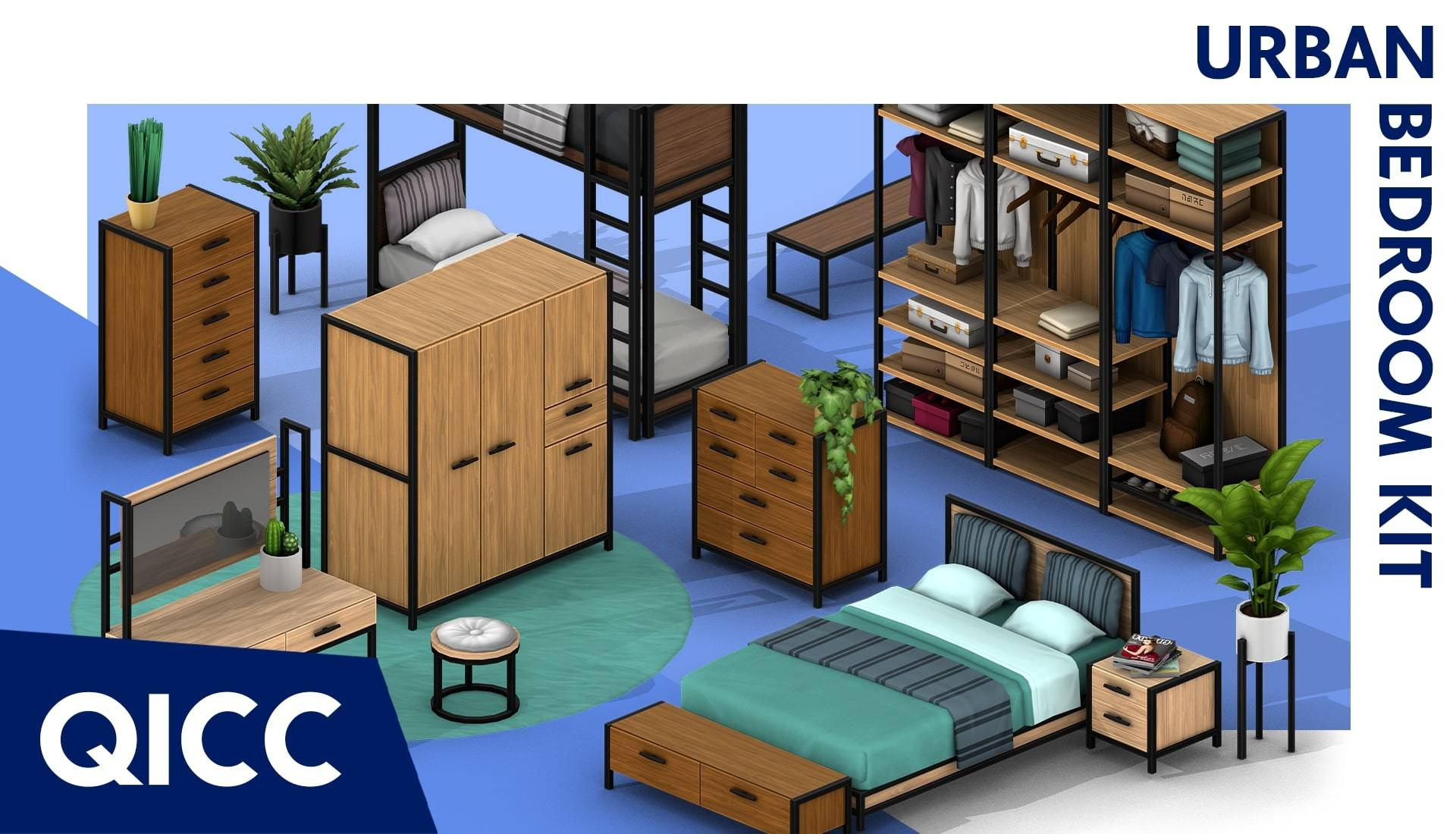 Спальный комплект - Urban Bedroom Kit