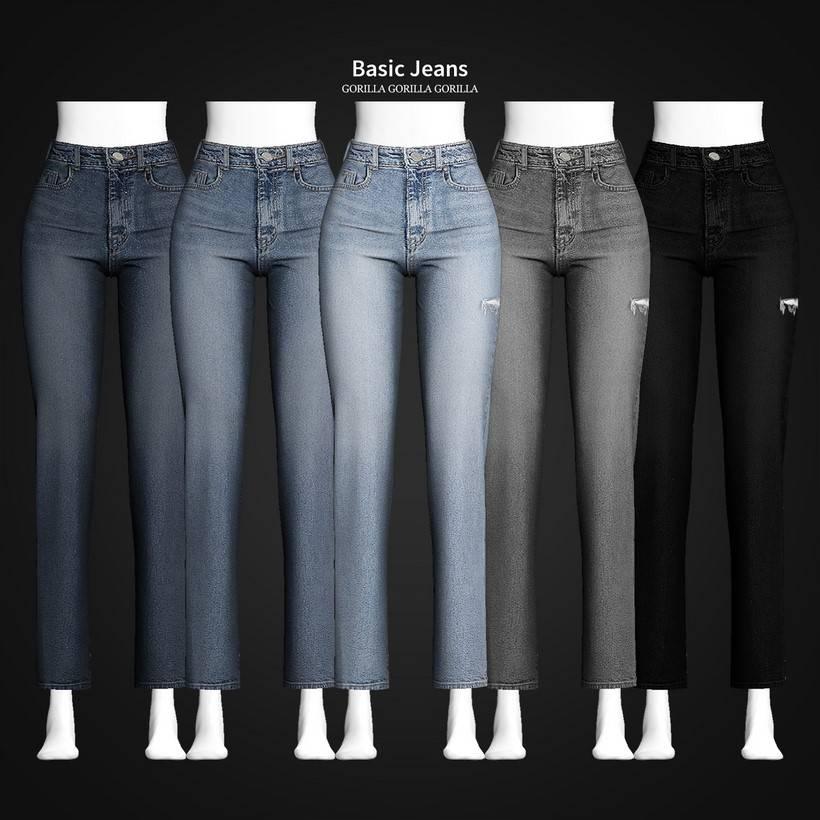 Женские джинсы - Basic Jeans
