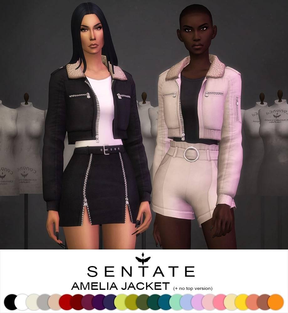 Куртка и топ - Amelia Jacket