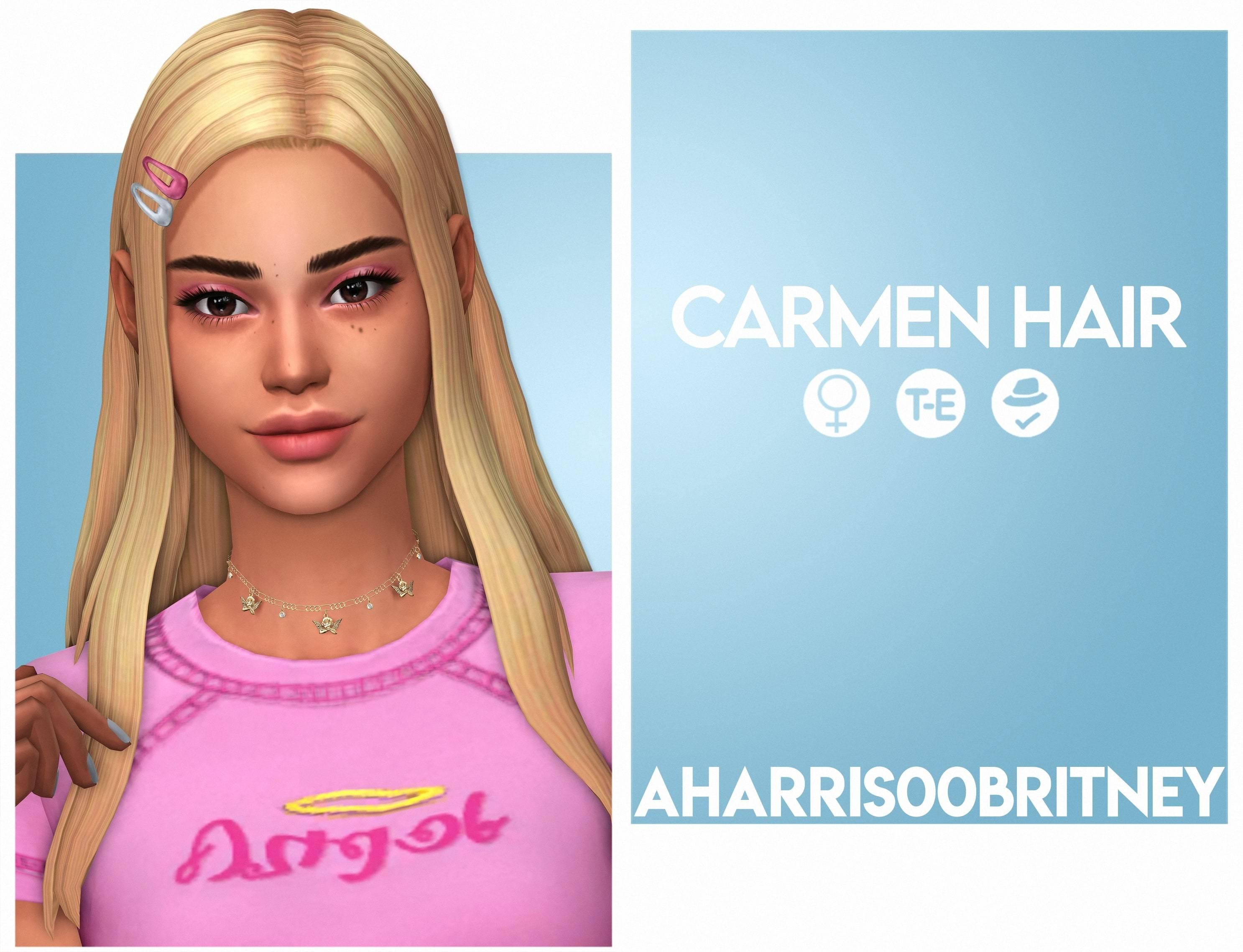 Женская прическа - Carmen Hair