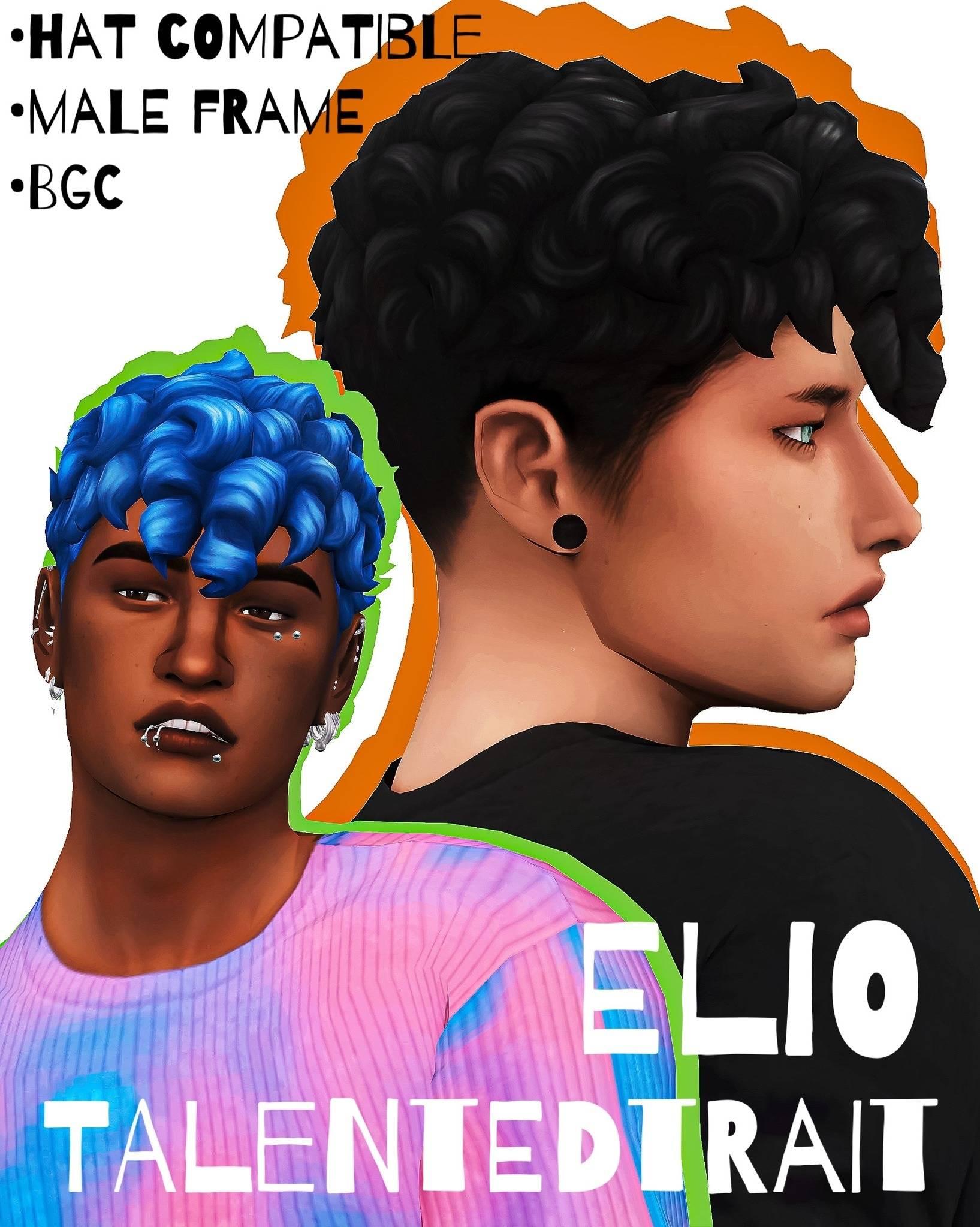 Мужская прическа - Elio Hair