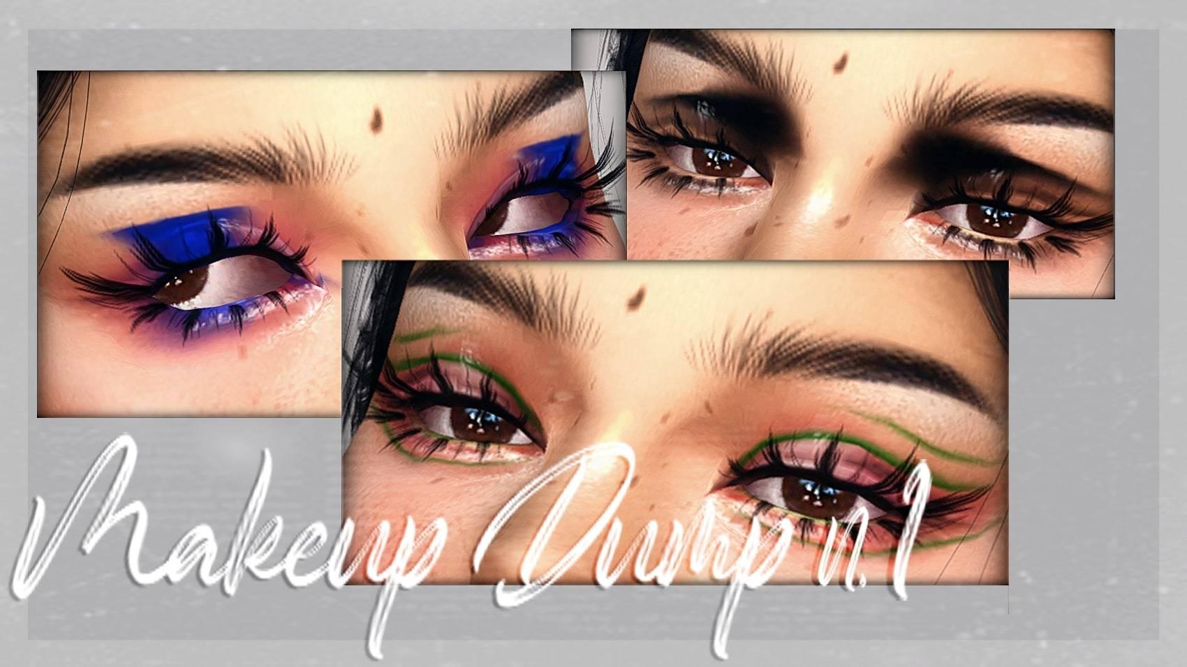 Набор косметики - Makeup Dump n1