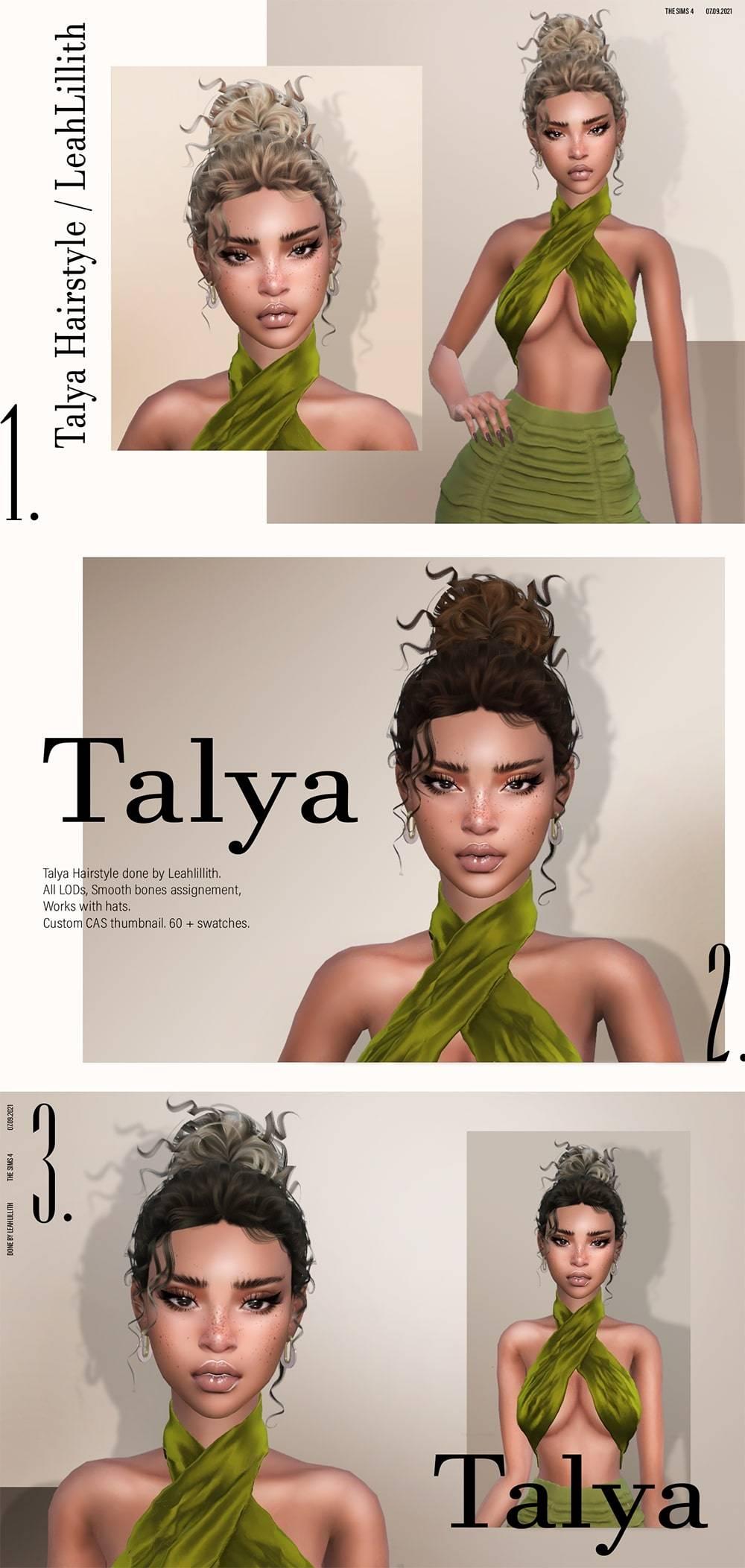 Женская прическа - Tayla Hairstyle