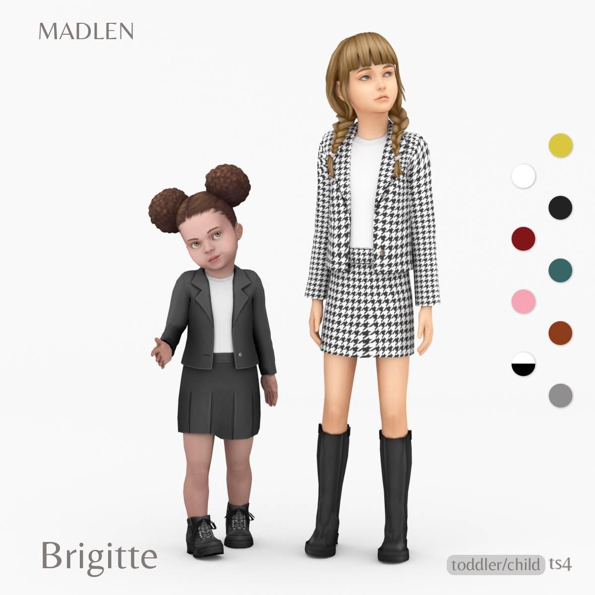 Комплект для девочек и малышек - Brigitte Outfit