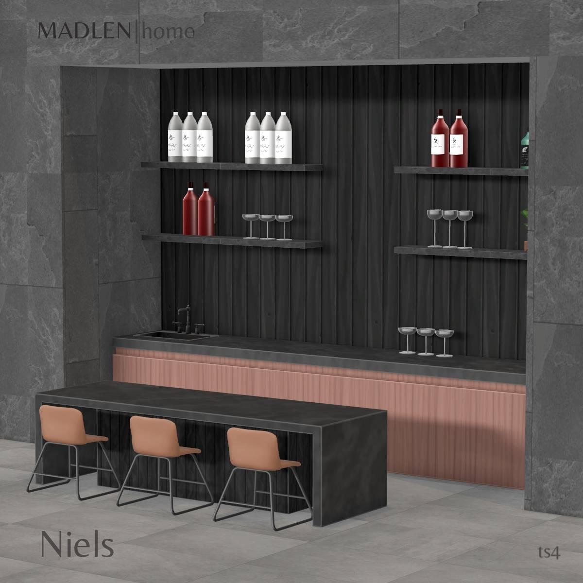 Кухня и столовая - Niels Set