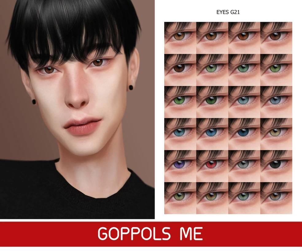 Линзы - Eyes G21