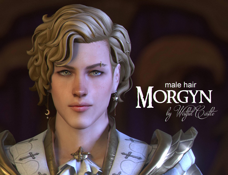 Мужская прическа - Morgyn