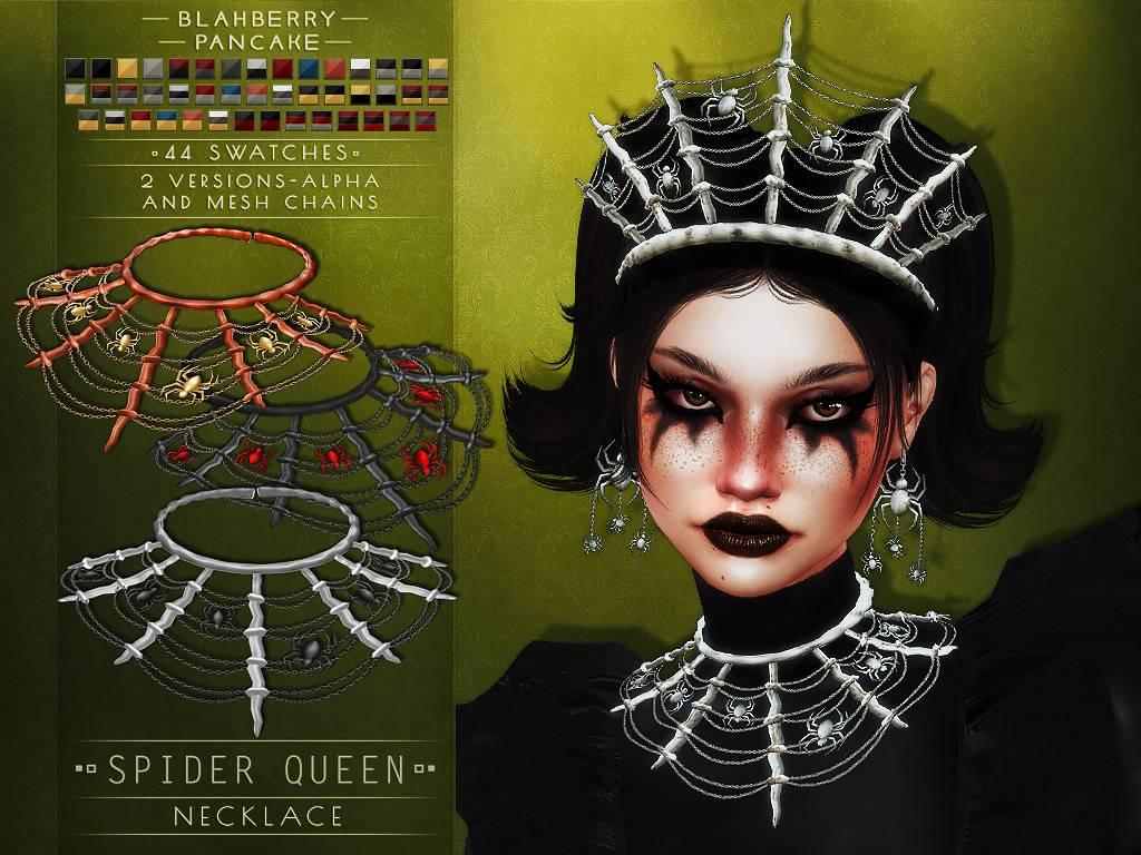 Ожерелье - spider queen necklace
